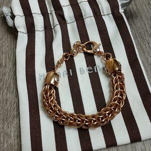 Henri Bendel Rose Gold Bracelet